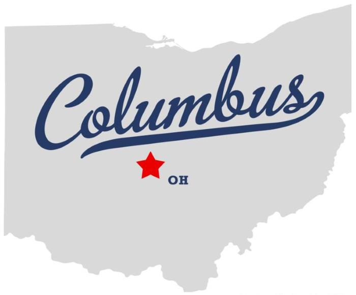 columbus state map